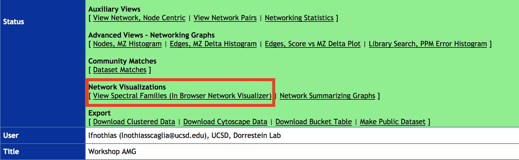 GNPS tutorial for MS/MS data annotation — Qiita-GNPS-workshop 0 01